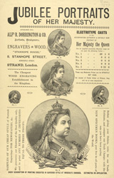 Advert For A. R. Dorrington & Co., Engravers